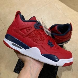 Air Jordan 4 Retro Fiba AJ4 US 6.5Y / 8W